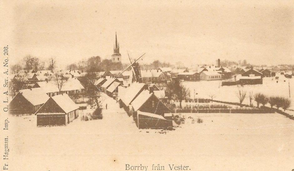 Färgaregatan tidigt 1900-tal (1a)