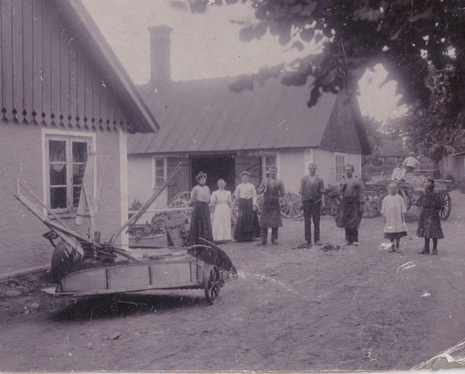 Emil Lundholms smedja 1906-1907