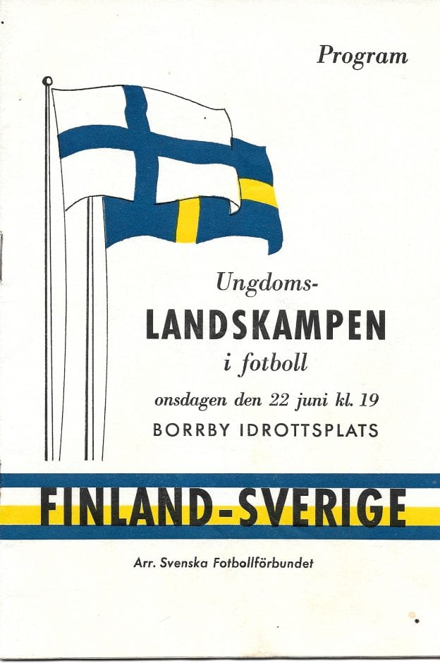 Program ungdomslandskamp fotboll Sv Fi 1960 i Borrby (1)
