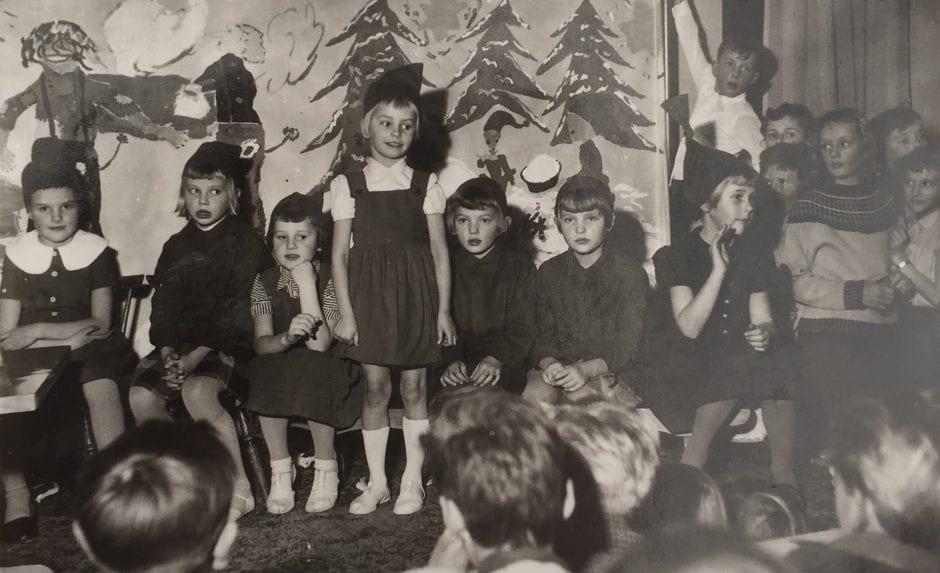 Julspex klass 1 Borrby 1957