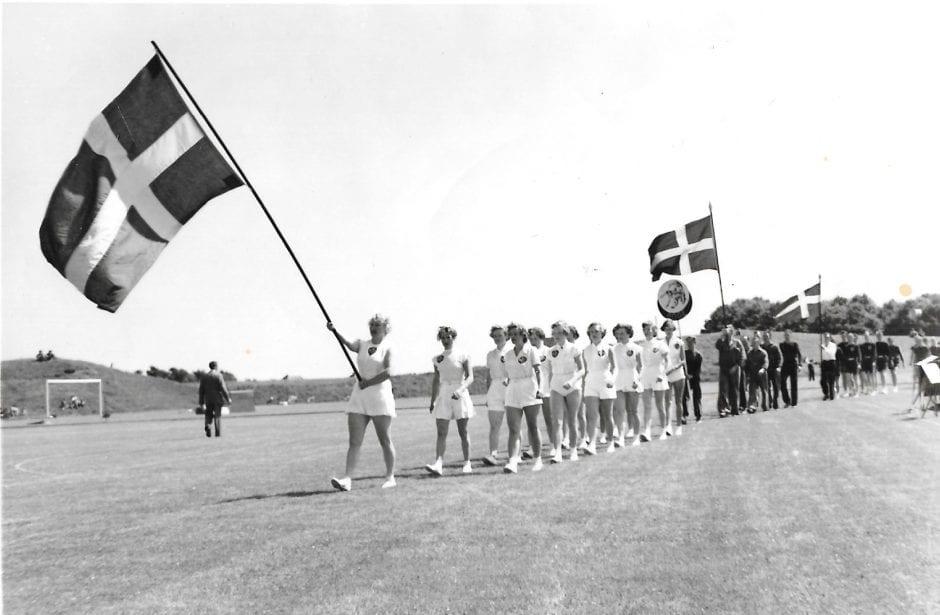 Borrby idrottsplats invigning 1958