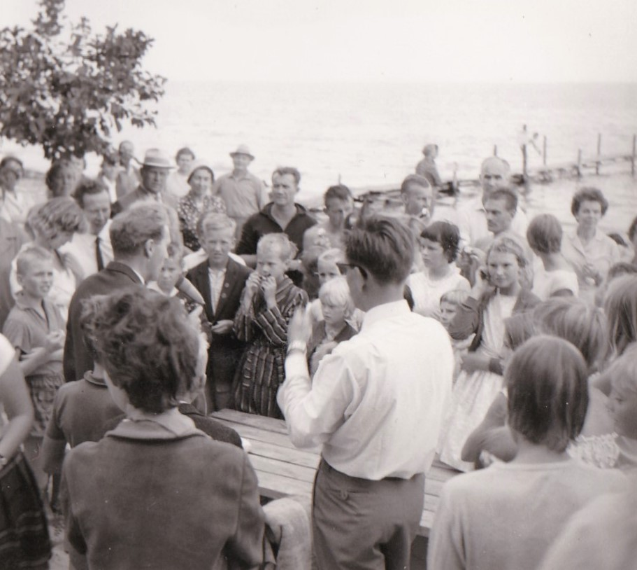 Simskoleavslutning 1961