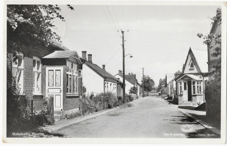 Bagaregatan, 1940 -tal (1a)
