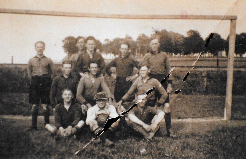Borrbys första fotbollslag 1926