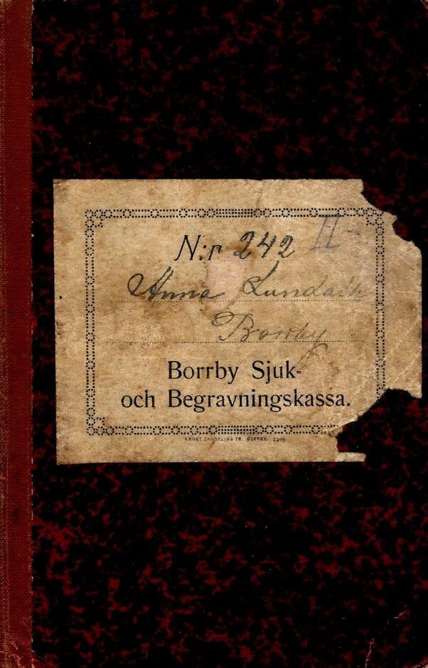 Borrby Sjuk- och Begravningskassa (1a)