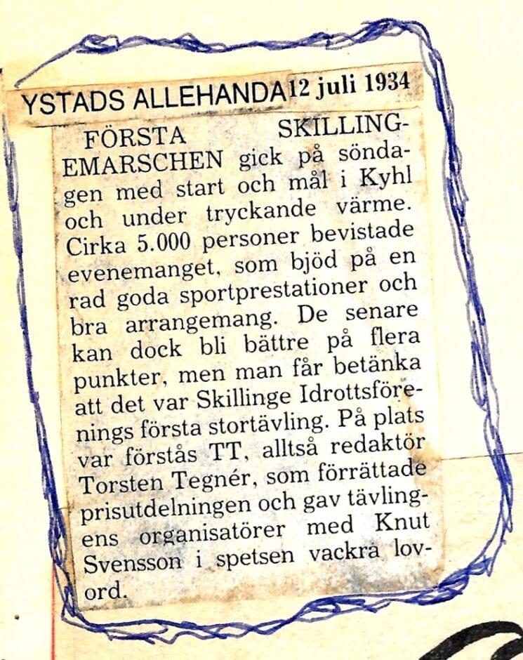 Skillingemarschen YA 19340912