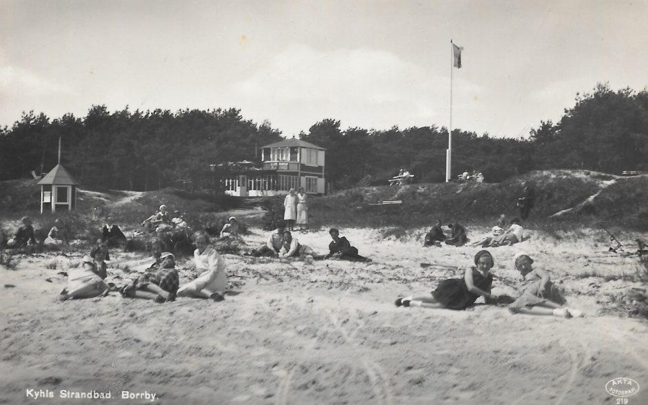 Kyhls strand 1930-tal