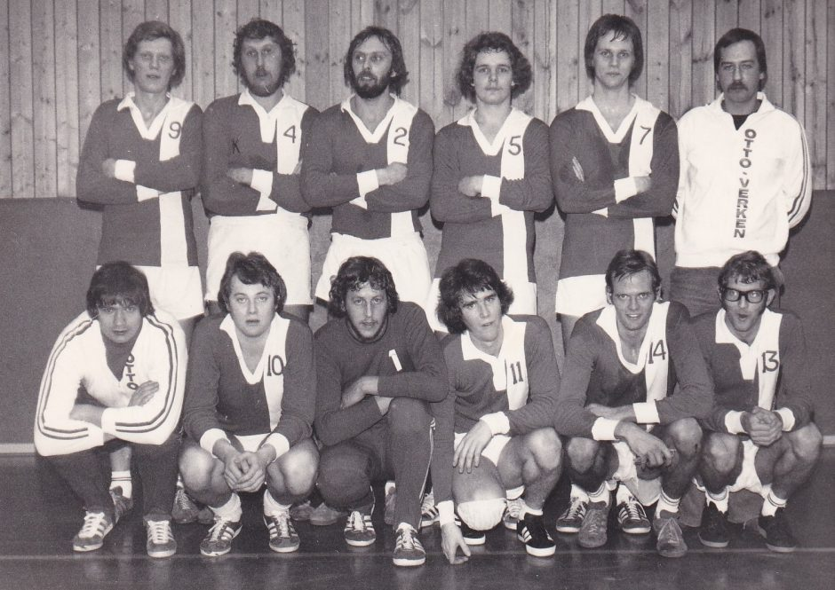 BIF Handbollslag 1977
