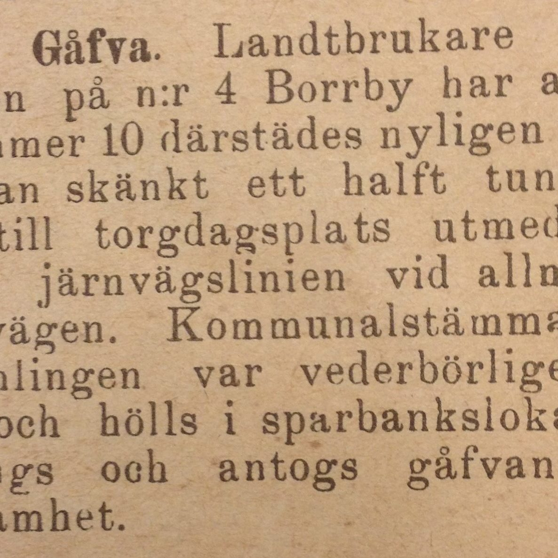 Måns Nils torg (1) C-bladet 18960116